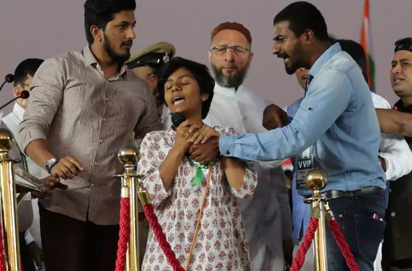 Indian Girl Amulya Who Chanted 'Pakistan Zindabad' Attacked by Extremists