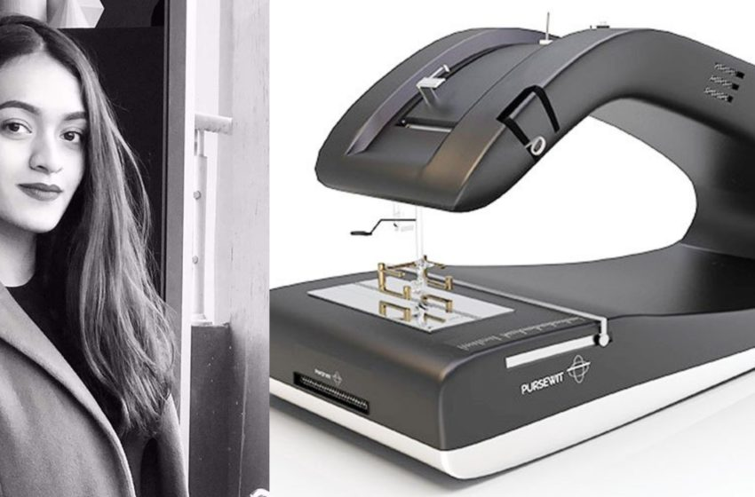 Pakistani NUST Student Aqsa Invents Sewing Machine for Visually-Impaired