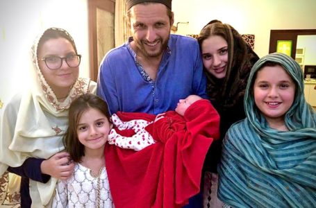 Shahid Afridi Blessed with 5th Baby Girl- Congratulation Messages Pouring on Twitter