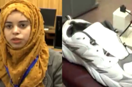 Tech Student Shanza Munir Invented Smart Shoes for Blind People