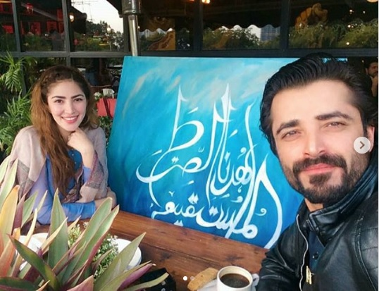 Hamza Ali Abbasi and Naimal Khawar Built TV-Table in Self-Quarantine- INTERESTING