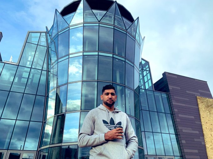 Amir Khan offered his Multi-Million-Pound Building to the NHS to Fight Coronavirus- HATS OFF