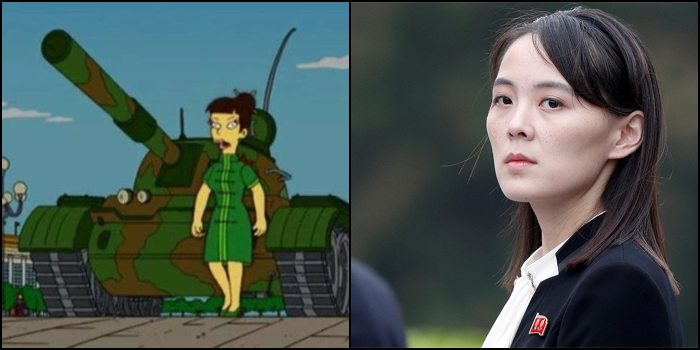 Simpsons Predicted Kim Yo Jong Taking Over From Kim Jong Un! Simpsons Are Controlling The Future.