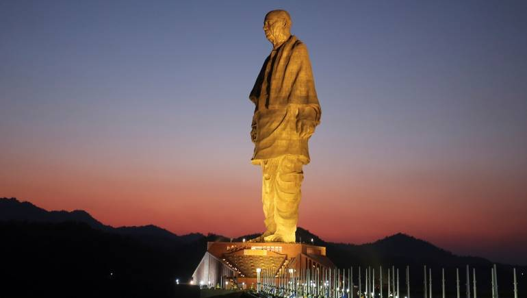 An Unknown Person Puts India's 'Statue of Unity' on OLX for Coronavirus Donations