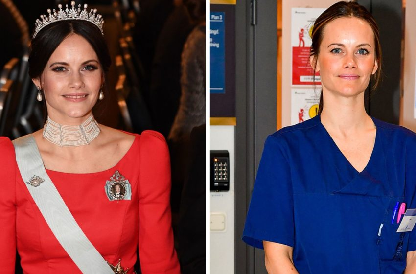 Princess Sofia of Sweden Volunteer Herself as Medical Assistant to Help Fight COVID-19
