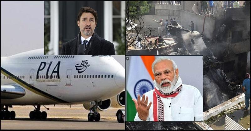 International Leaders are Extending Condolences on PIA Plane Crash
