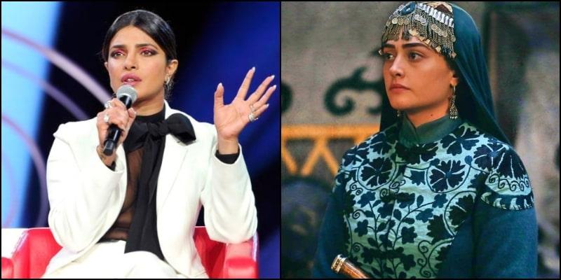 Esra Bilgic aka Halime Sultan Called out Priyanka Chopra over an Anti-Pakistan Statement