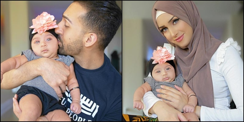 YouTubers Sham Idrees and Froggy Introduces their Baby Girl to the World