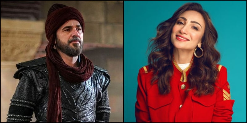 Anoushey Ashraf Received a Surprised Eid Greeting from Ertugrul Himself