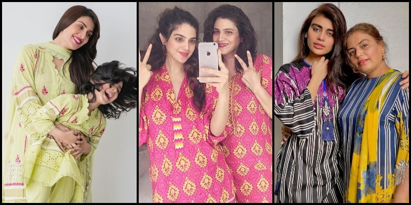 Pakistani Celebrities Share Adorable Pictures with Mother on #MothersDay