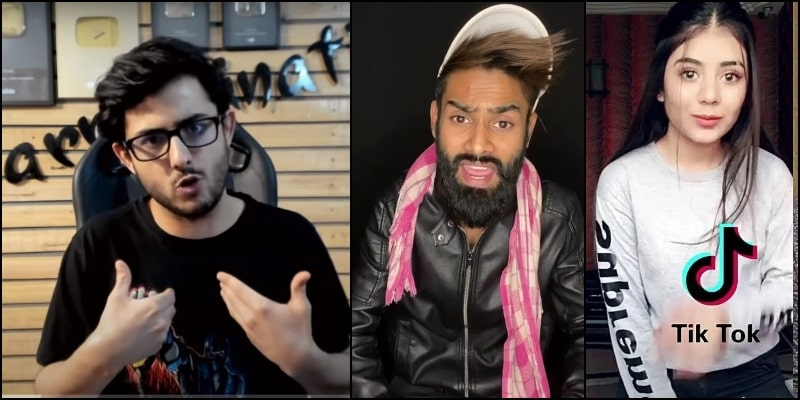 CarryMinati Sets Internet on Fire by Roasting TikTokers and People Loved It