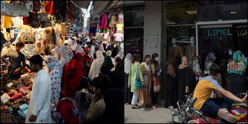 Disturbing Pictures of Nationwide Hustle-Bustle after Easing of Lockdown