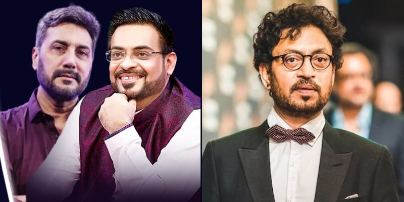 Aamir Liaquat Made Public Apology From Adnan Siddiqui For Insensitive Joke on Irrfan Khan