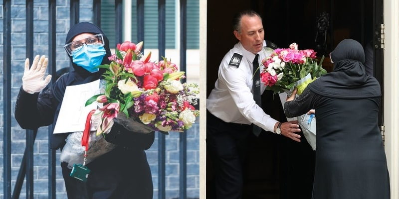 Flower Delivery By Pakistani's High Commissioner to British PM Boris Johnson Gone Viral