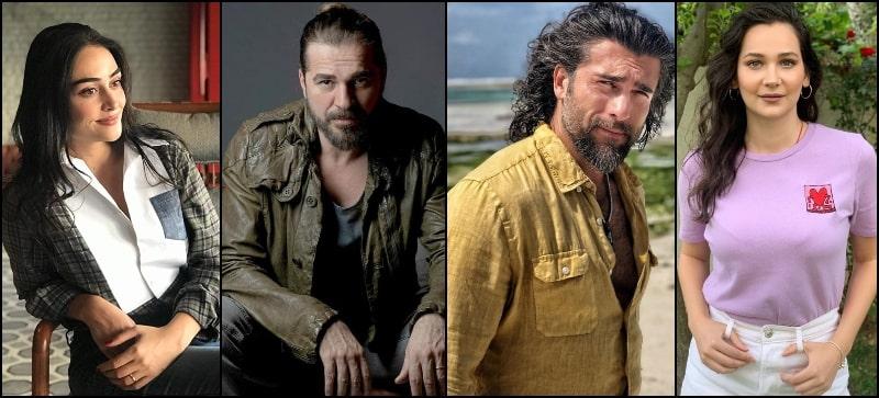 Cast of Dirilis Ertugrul: Halime Turgut Dugan Ashlihan Shower Love for Pakistan