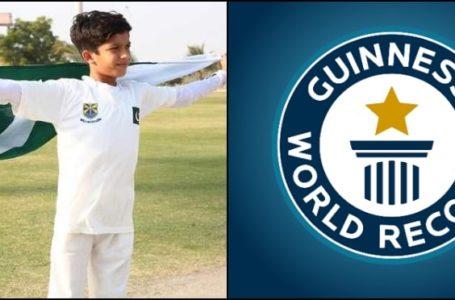 Beaconhouse Student Sameer Khan Sets a new Guinness World Record