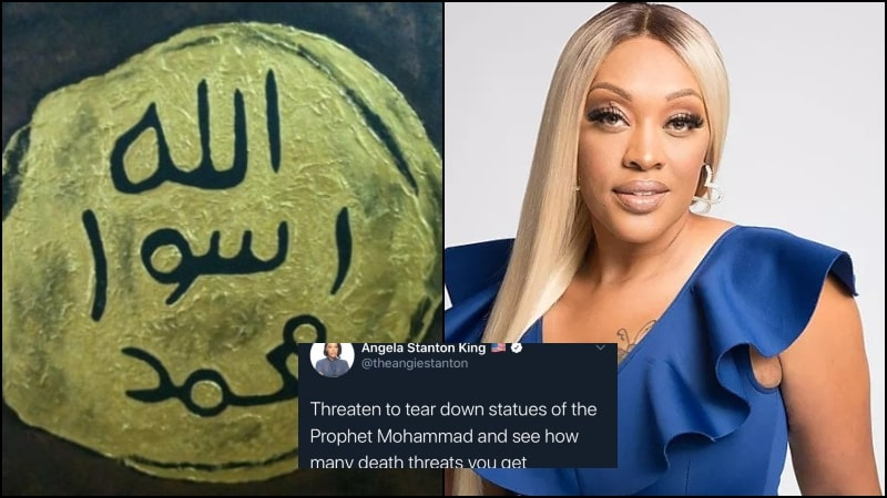 Muslims Challenge US Woman to Find Statue of Prophet (PBUH) as She Threatened to Tear Down One