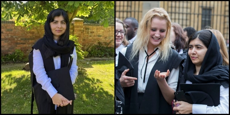 YouTube Congratulated Malala Yousafzai on her Graduation from Oxford University