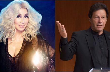Goddess of Pop Cher is Huge Fan of PM Imran Khan since his Cricket Days