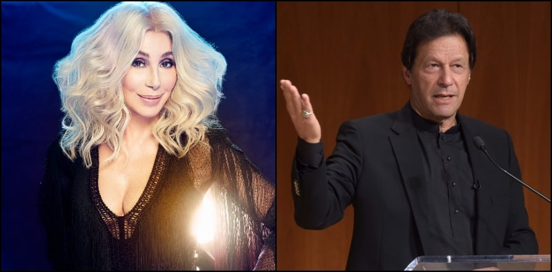 Goddess of Pop Cher is Huge Fan of PM Imran Khan since his Cricket Days