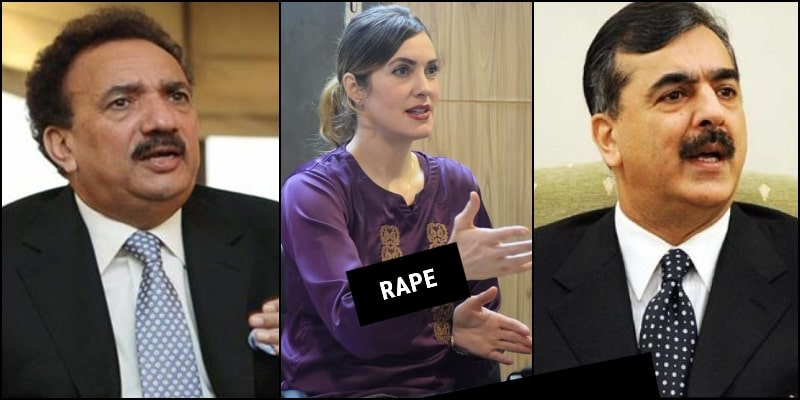 US Blogger Cynthia Ritchie Claims that Rehman Malik & Yousuf Gillani Raped Her