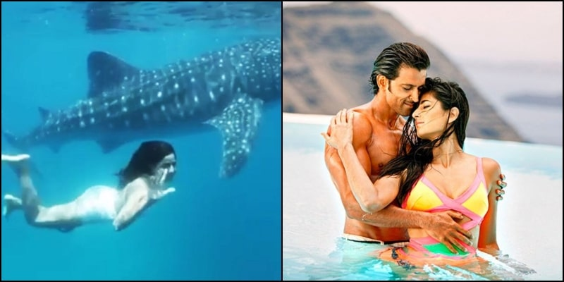 Hrithik Roshan is Enthralled by Katrina Kaif's Recent Swimming Video on Instagram