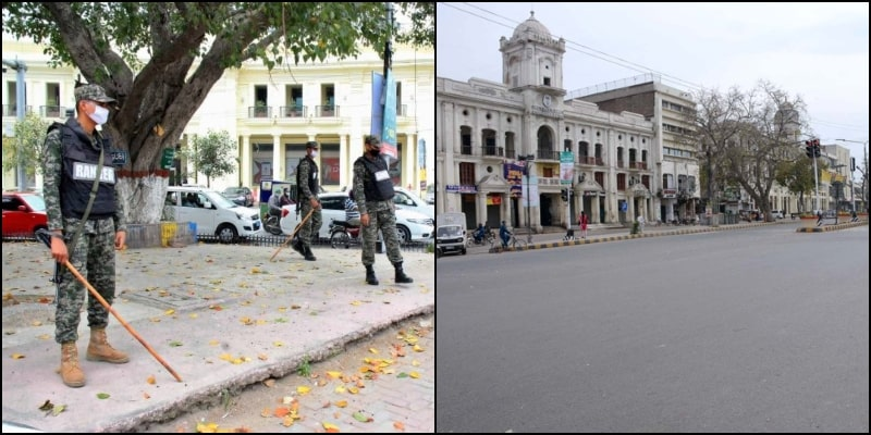 Punjab Govt to Impose Complete Lockdown in Several Areas of Lahore after Cases Spike