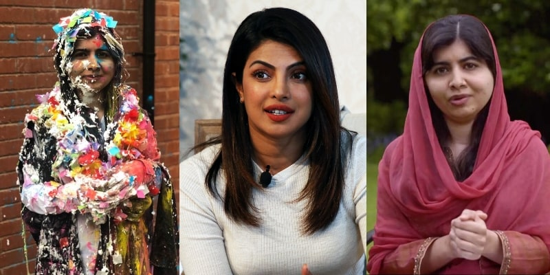 Priyanka Chopra Congratulates Malala for Completing her Degree at Oxford University