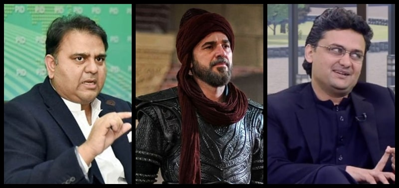 Ertugrul Debate Enters Into Politics: Faisal Javed and Fawad Chaudhry in Social Media Spat