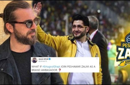 Engin Altan aka Ertugrul is Going to be Peshawar Zalmi's Brand Ambassador In PSL?