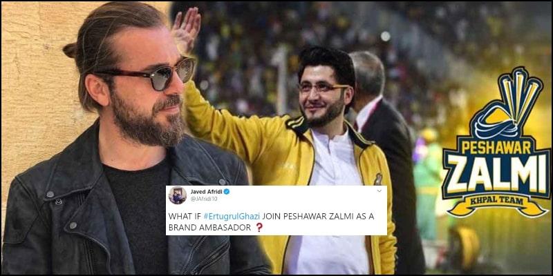 Engin Altan aka Ertugrul is Going to be Peshawar Zalmi's Brand Ambassador In PSL?