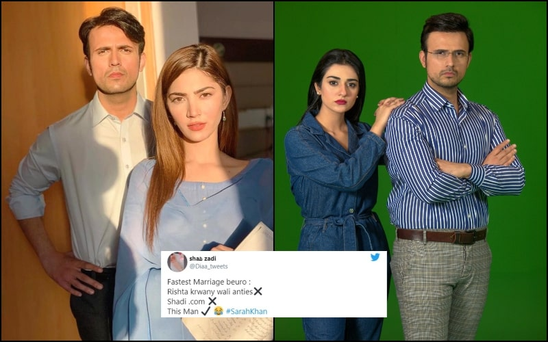 Here's Why People Are Trolling Usman Mukhtar After Sarah Khan's Marriage