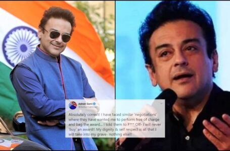 Adnan Sami Exposes Ugly Side of Bollywood: Offered an Award in Exchange of Free Performance