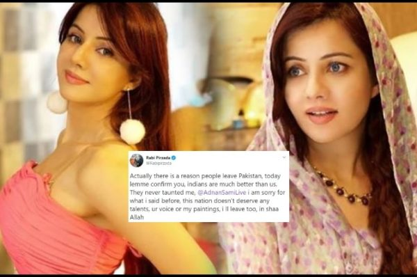 Rabi Pirzada Takes a U-turn from Her Words of Indians Better Than Pakistanis