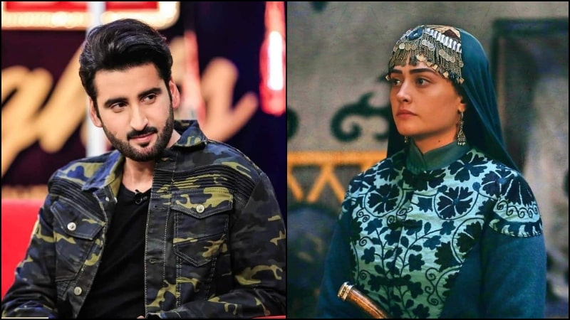 Agha Ali Comes Out in Support of Esra Bilgic aka Halime Sultan for Working with Pakistani Brands