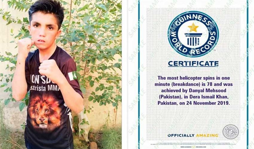11-Years-Old Pakistani boy Sets Guinness World Records: PROUD MOMENTS