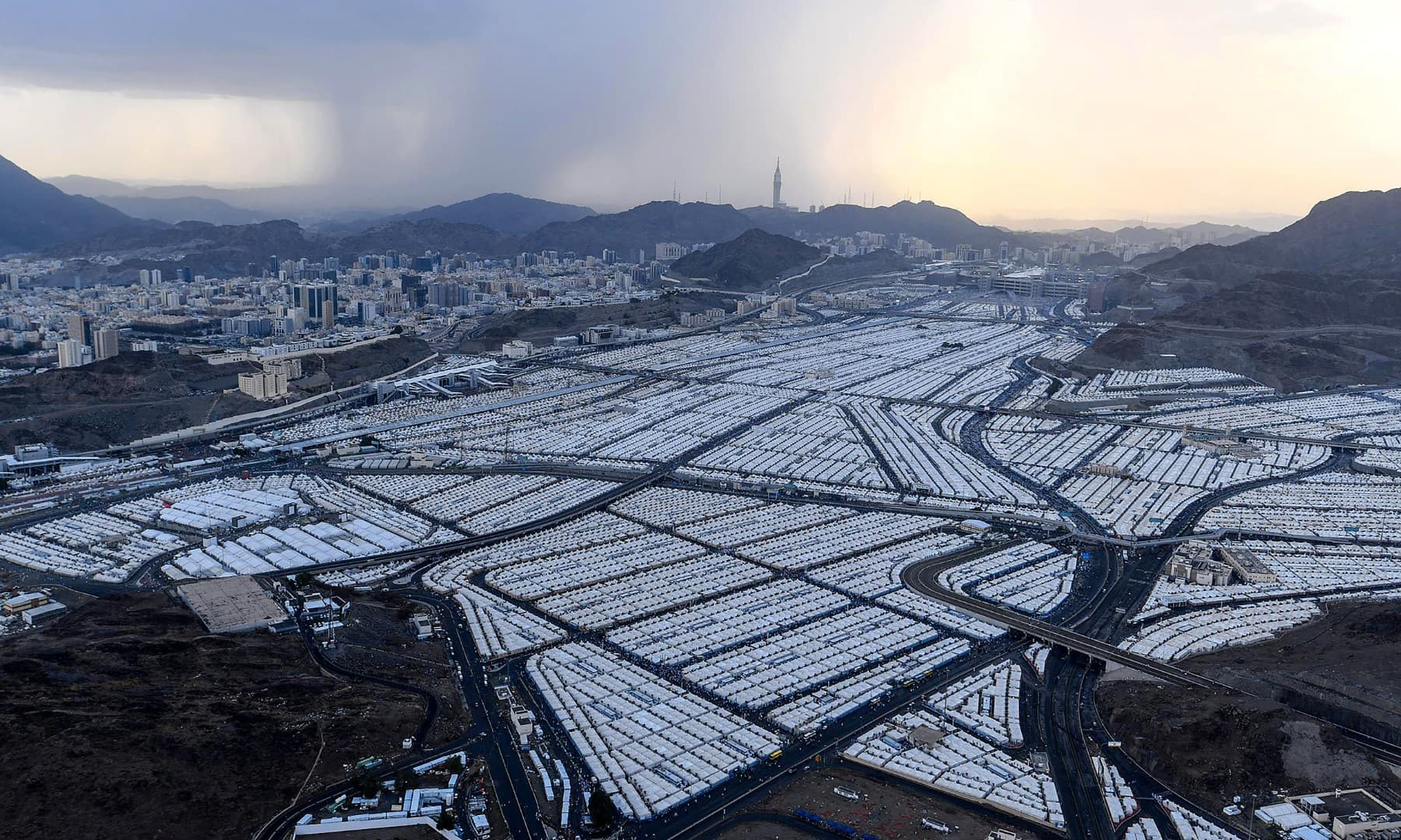 In Pictures: Scaled-Down Hajj Begins while Keeping Social Distancing to Prevent Covid-19