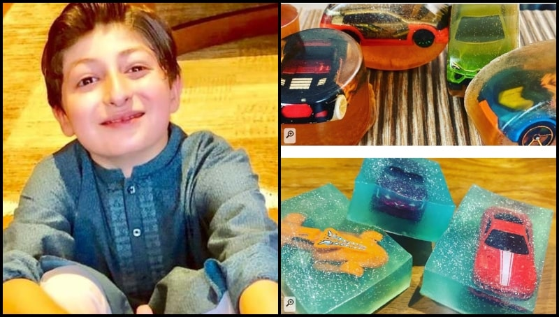 Little Tayyab's Handmade Toy-Hidden-Soaps are Best way to Motivate Kids to Practice Hygiene