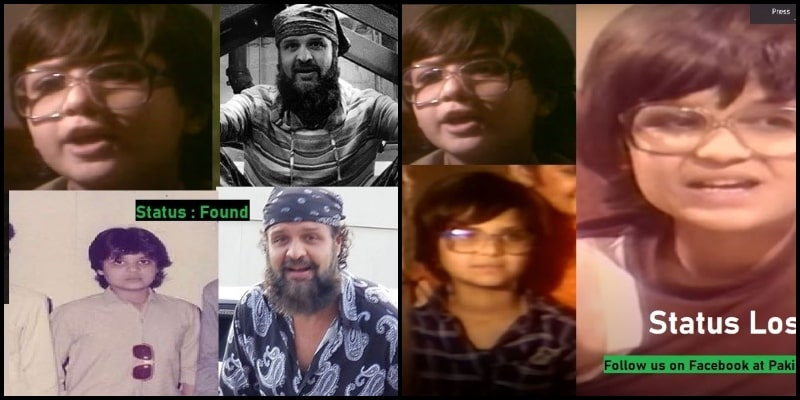 A Wistful Campaign to Find Lost Pakistani Child Stars: And it's NOSTALGIC