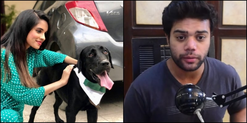 Ducky Bhai Lashes out at Girl Dressing Dog in Pakistani Flag Scarf: Hostile Story Ends with Apologies