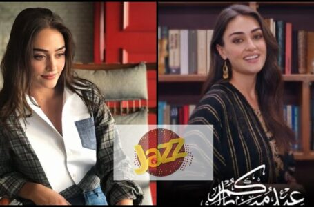 Esra Bilgic aka Halime Sultan Became the new Face of Jazz Telecom Company Pakistan