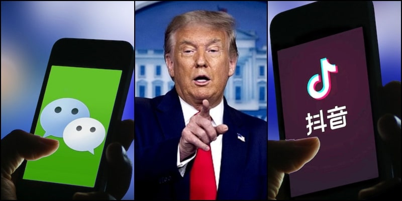 Donald Trump to Ban WeChat and TikTok from App Stores in USA