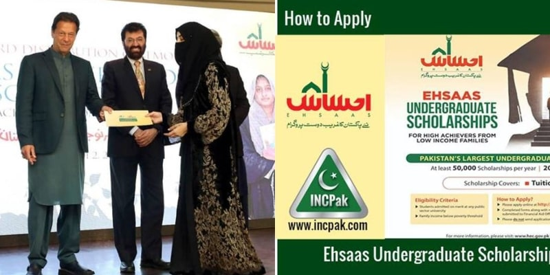 Ehsaas Undergraduate Scholarship Portal is Opened by Govt: How You Can Apply!
