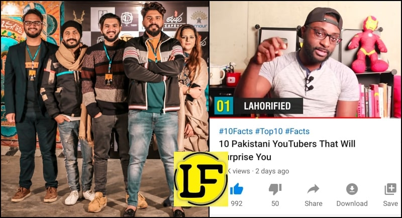 International Channel FTD Facts Call LahoriFied as No 1 YouTube Channel in Pakistan