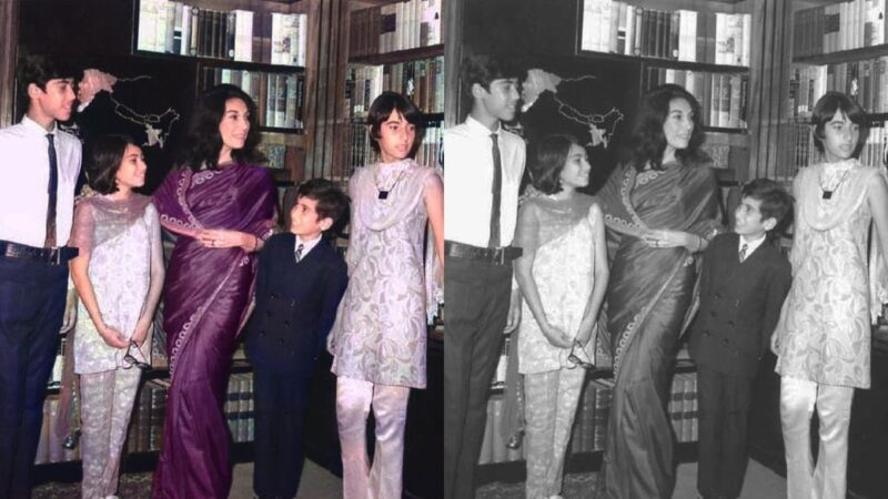 This Pakistani Supergirl is Using AI to Add Color to Iconic Black & White Photos