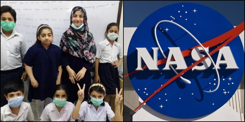 4th Grade Students from Karachi Receive Answers of Curious Questions from NASA