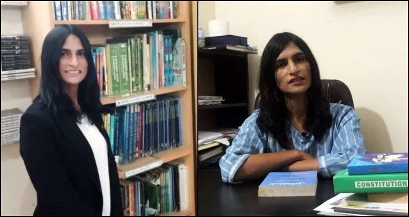 Here's Inspiring Story of Pakistan's 1st Transgender Lawyer Nisha Rao