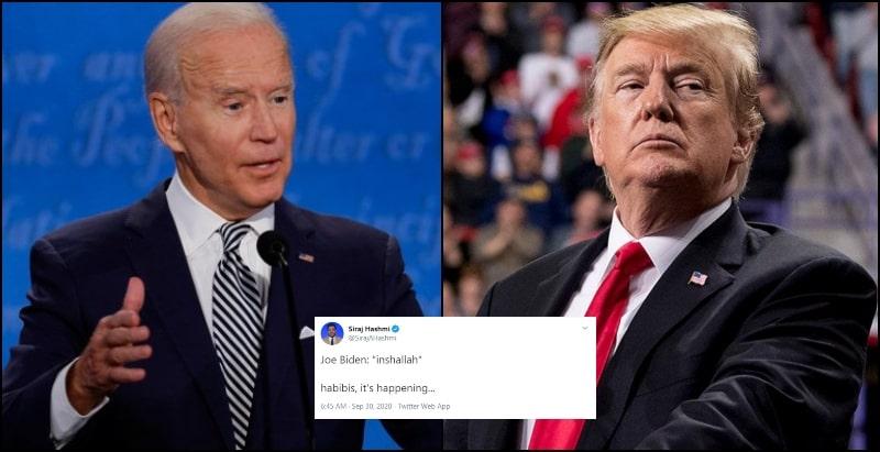 Joe Biden's use of InShaAllah to Mock Trump Raises Eyebrows of Everyone on Twitter