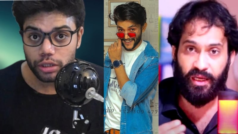 TikToker Ali Hyderabadi Receives Backlash from YouTubers & People for Calling Fangirl KAALI