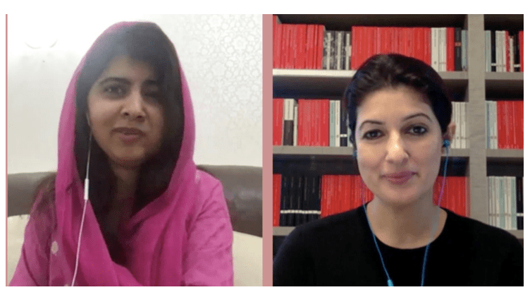 Twinkle Khanna Broke Down in Tears While in Conversation with Malala Yousufzai